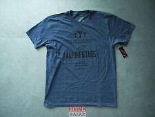 ALPINESTARS WORLDWIDE T-SHIRT NEU NAVY-HEATHER GR:M ALPINESTARS ASTARS