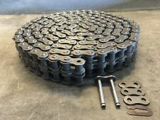 120-2R Roller Chain - 10' w/ connecting link - Double Strand - New #120-2R