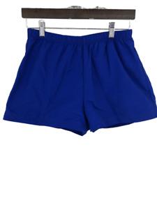 Lands End Womens  Shorts Bottoms Athletic Lightweight Packable Blue Size 8 M