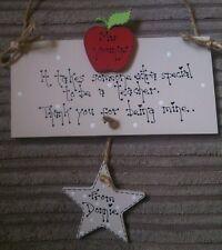 Bespoke Personalised Keepsake Plaque Gift Extra Special Teacher