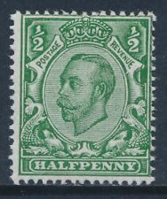 GB 1912 SG339 GREEN ½d MINT (MNH) Die 2 our ref GN7