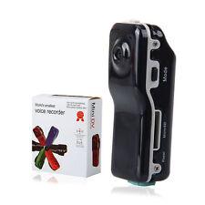MD80 Mini DV Camera Hidden DVR Video Recorder Waterproof Sports Camcorder Black