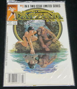TARZAN OF THE APES COMIC BOOK No. 1, MARVEL 1984, LIMITED SERIES