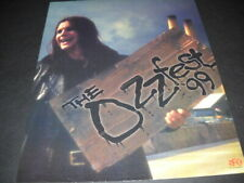 Ozzy Osbourne is on his way to Ozzfest original 1999 Promo Poster Ad mint