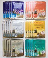 Korea Cosmetics 30pcs, 1 set [Malie] 6 Kinds of Ultra Hydrating Essence Mask 25g
