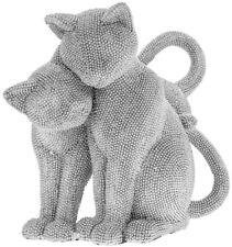 Glamorous Bling Sparkling Art Cat Ornament 24cm