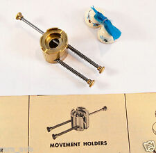 ADJUSTABLE JAWS MOVEMENT HOLDER - Watchmaker / Jeweler / Watch Tool