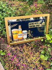 Modelo Especial Beer Bar Mirror Man Cave Pub