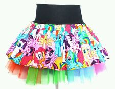 My Little Pony rainbow dash pinky pie costume tutu party skirt. Age 1 2 3 4 5 6