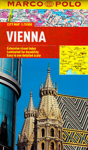 Vienna Marco Polo City Map: Marco Polo City Maps Paperback Book