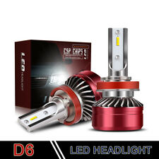 H8 H9 H11 H16 6000K White 12000Lm Dot Led Headlight Bulbs Kit High Low Beam Lxd