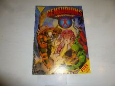 CENTURIONS Comic - Monthly - No 2 - Date 1987 - ruby-spears Comics