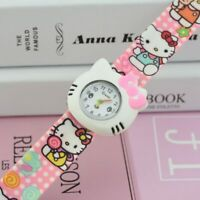 NEW FASHION Hello kitty Slap Watch for girls 3 colors High quality FREE SHIPPING