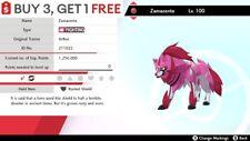 ✨ Shiny  Zamazenta ✨w/ Rusted Shield Perfect IV Pokemon Sword Shield