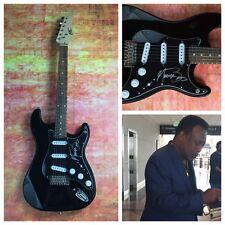 GFA Legend Jazz Guitarist * GEORGE BENSON * Signed Electric Guitar PROOF AD1 COA