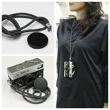 New hand Strap+ cap shoulder strap for Rollei 35 series 35 35S 35SE 35TE long
