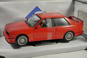 BMW E30 M3 in Red 1/18 scale model by SOLIDO