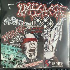 """MASSACRE 68 -CICATRICES EN VIVO EN AGUASCALIENTES 1985- 2010 MEXICAN LP + 7"""" NEW"""