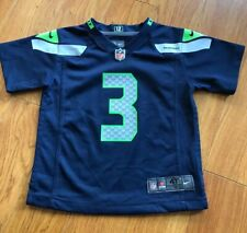 Nike Seattle Seahawks Russell Wilson Toddler Child Jersey 4T NFL Football