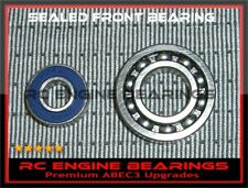 GK 65 Saito FA72 engine  58 MDS 48 MDS 61ABEC3 Upgrade RC ENGINE BEARINGS SS+HC