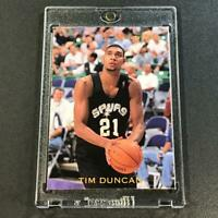 TIM DUNCAN 1997 SKYBOX PREMIUM #6 AND ONE SEALED SEALED INSERT CARD SPURS NBA