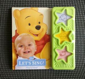 Disney Baby Let's Sing Sturdy Play a Sound Board Picture Story Book 18months+