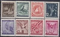 AUSTRIA  POST WWII  ANTI - FASCISM  ANTI - NAZI Set MNH