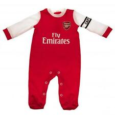 Arsenal FC Babygrow  New Kit Design Sleepsuit all sizes  Onsie 100%25 Official