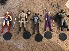Dc Multiverse Mcfarlane Action Figure Lot. Batman, Wonder Woman, Joker