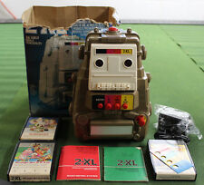Vintage 1970'S Type 2 Mego 2-Xl Talking Robot With 3/ 8 Track Tapes, Box Works