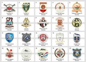 Badge Pin: European football clubs Gibraltar