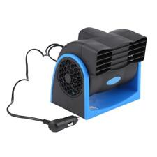 12V Portable Car Electric Cooling Fan Mini Adjustable Speed Silent Air Cooler