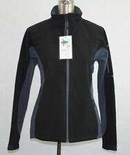 JK32 Ladies Softshell Constrast Jacket Black Size 12