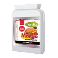 African Mango 120 Tablets 1200mg High Strength Weight Loss Diet Supplement UK