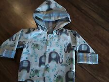 handmade baby jacket -reversible - size 6 months Boys
