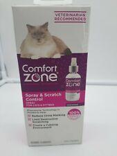 New Comfort Zone Spray & Scratch Control Spray for Cats� & Kittens- 4fl oz