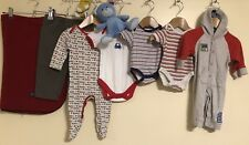 Baby Boys Bundle Of Clothing Age 0-3 Months Mothercare M&S Vitamin <D1670