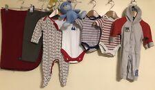 Bébé Garçons Paquet De Vêtements Âge 0-3 mois Mothercare m&s Vitamine < D1670