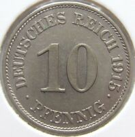 Top! 10 Pfennig 1915 E IN Extremely fine / Brillant uncirculated