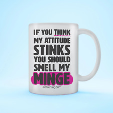 More details for mug if you think my attitude stinks... mug