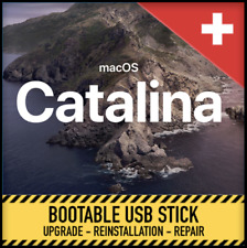 MacOSX 10.15 Catalina bootable flash drive Disk reinstall repair