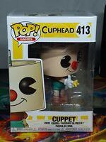 Cuphead Cuppet Pop Games #413 Vinyl Figure Funko Aus Seller