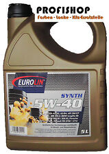 Motoröl Öl 5W/40 5W40 5 Liter BMW Longlife 01 VW 502.00 / 505.00 Porsche A40 5l