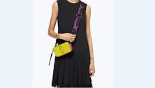 NWT Genuine Marc Jacobs Snapshot Small Camera Bag Crossbody yellow green  sales