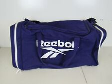 61ed5ad6a035 Reebok Shoulder Gym Duffel Large Athletic Sports Bag Purple White L559K