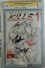 Deadpool kills the marvel universe 1 CGC 9.8 SS 5X Stan Campbell Liefeld plus 2