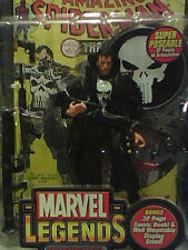 TOY BIZ PUNISHER THE MOVIE PUNISHER (THOMAS JANE) WITH WEAPONS AND COAT