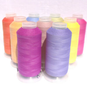 100Meters 150D/2 Photosensitive Color-changing Sewing Thread for Sewing Machine