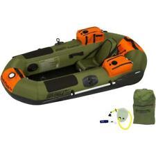 Sea Eagle Packfish 7 Pro Portable Inflatable Fishing Boat Raft