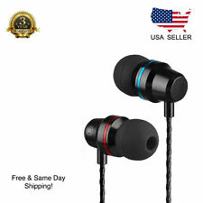 Super Bass Headset 3.5mm In-Ear Earphone Stereo Earbuds Headphone Wired
